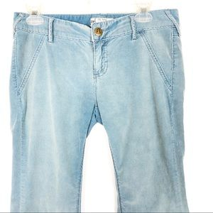 Free People | Blue Solid Cords